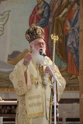 Arzobispo Anastasios de Tirana, Durrës y toda Albania  (Xanthi Morfi/CMI )